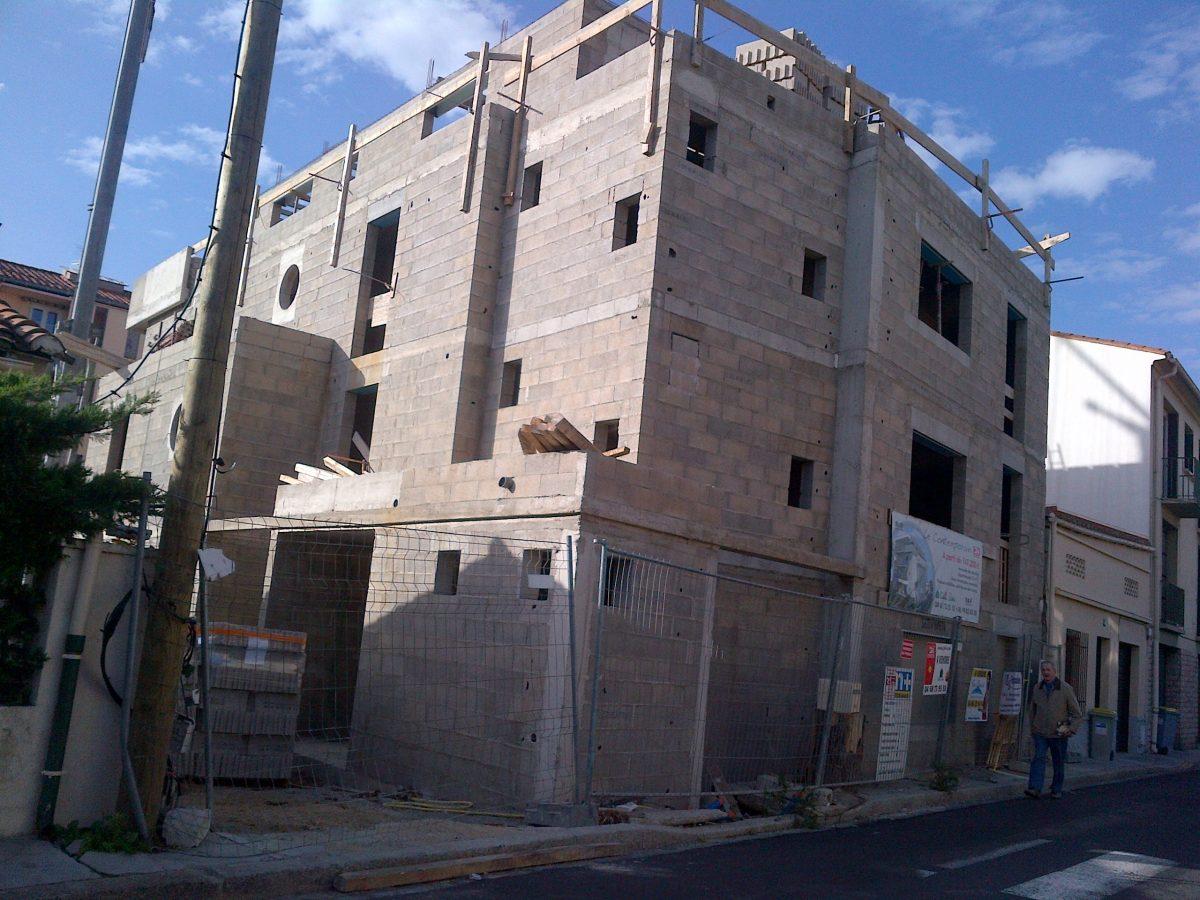immeuble bloc perpignan