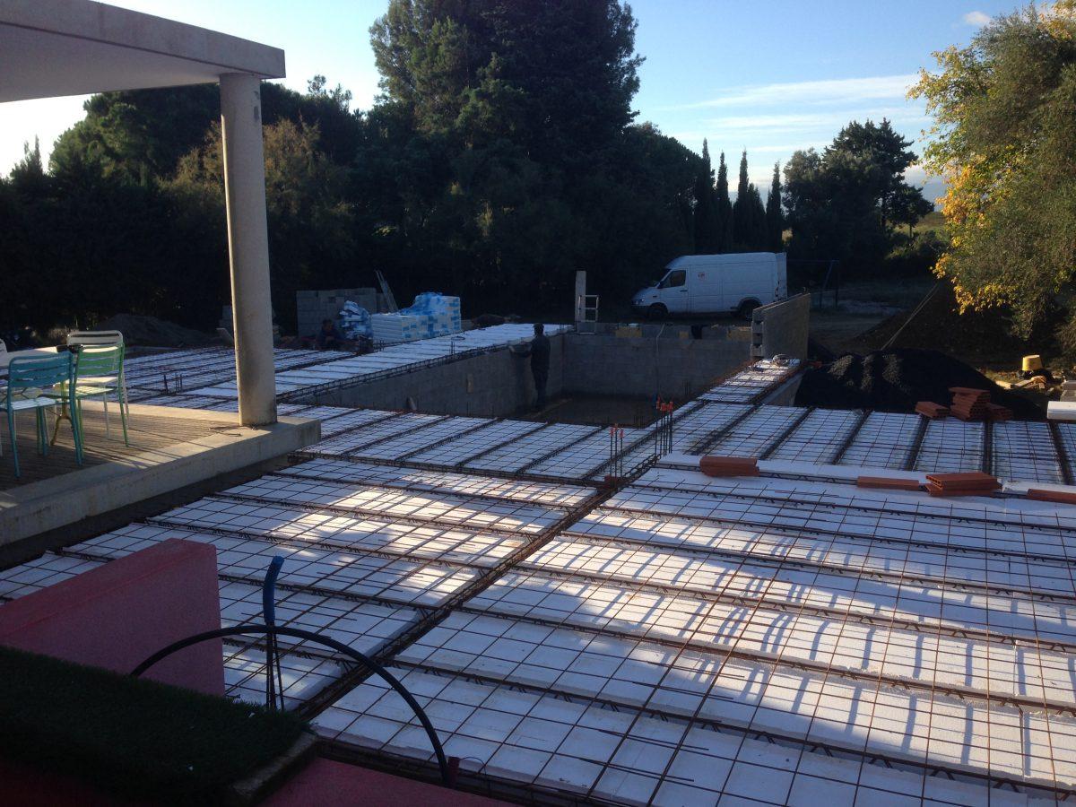 Construction D Une Piscine construction d'une piscine avec local technique - maisons curto