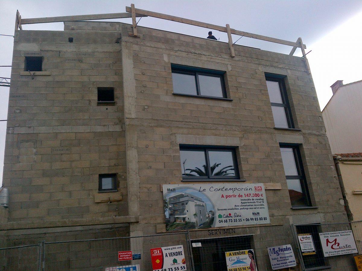 immeuble en bloc